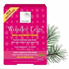 New Nordic Wonder Legs Natural Supplement 30 Tablets