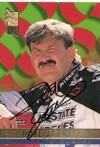 Dale Jarrett PRESS PASS VIP 1994 HALL OF FAMER signed card *FREE SHIPPING*
