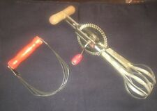 Vtg Utensil Set. AJ Beater And Androck Pastry Mixer