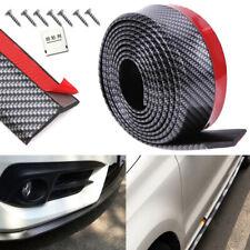 "100"" Universal Carbon Fiber Car Front Bumper Lip Spoiler Valance Chin Protector"