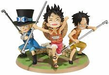 *NEW* One Piece A Promise of Brothers: Luffy Ace & Sabo Figuarts ZERO PVC Figure