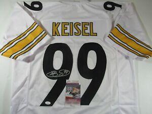 Brett Keisel Pittsburgh Steelers Autograph Signed Jersey JSA