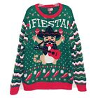Party Dec.25th Brand Men XL Over Shirt & Tie Ugly Christmas Sweater