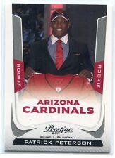 2011 Prestige 274b Patrick Peterson Rookie Draft SP