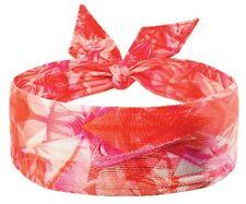 New Womens Nike Head Tie Skylar Diggins Headband Running Basketball Pink / Red