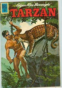 Tarzan #128 January-February 1962 G/VG