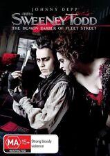 Sweeney Todd - The Demon Barber Of Fleet Street (DVD, 2008)- free post!!!