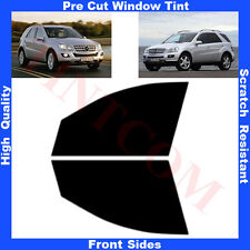 Pre Cut Window Tint Mercedes Benz ML W164 2005-2011 Front Sides Any Shade