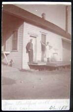 **1915 CREAMERY ~ Americana ~ Jim Standiford ~ RPPC