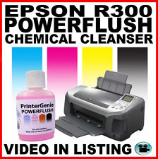 Epson R300 Print Head Cleaner:  Nozzle Cleanser for Unblocking Problem Clogs