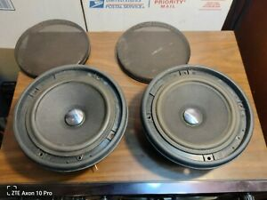 """Pair MB Quart 6"""" QM 130 TX Reference Level Midrange Speakers Made in Germany"""