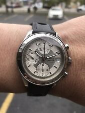 Omega 39mm Speedmaster Date 3513.30.00 Chronograph Leather Band Box Papers EC