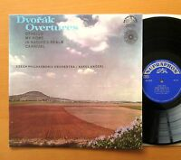 SUA 10432 Dvorak Overtures Karel Ancerl NEAR MINT Supraphon Mono