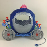 "Cinderellas Transforming Carriage Pumpkin 15"" Toy Disney Princess Mattel 2011"