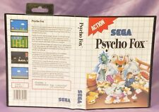Psycho Fox _ Sega Master System / Game mit Anleitung in OVP CIB