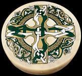 Bodhran Celtic Cross Pack 12 pollici gaelico Cross