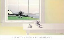 Keith Hiscock Lithograph Tea With A View 2001