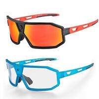 ROCKBROS Polarisierte Fahrradbrille UV400-Schutz Damen Herren Sonnenbrille Sport