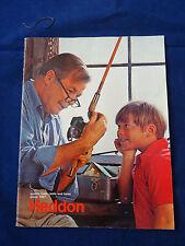 A VINTAGE HEDDON ADVERTISING FISHING CATALOGUE CIRCA 1970