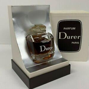 Rare Vintage 80s sealed bottle Durer Paris Perfume Parfum 1 oz 30 ml boxed