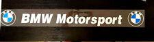 Amazing Racing Car Windscreen Windows Car Sticker Decal For Bmw(Use Inside)