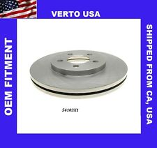 Verto USA  Front Disc Brake Rotor For  Ford Crown Victoria 2003-2011