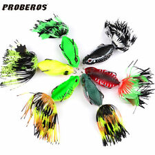 6pcs Lot Soft Lure 6 Colors Frog Bass Baits 6cm 13.2g Fishing Tackle Top Water