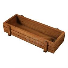 Wooden Vegetable Succulent Plant Bed Herb Flowers Box For Garden Patio Backyard