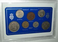 1957 Vintage Coin Set 60th Birthday Birth Year Present Wedding Anniversary Gift