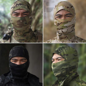 Paintball Mask Airsoft Mask Full Face Mask Military Veil Tactical Balaclava Army