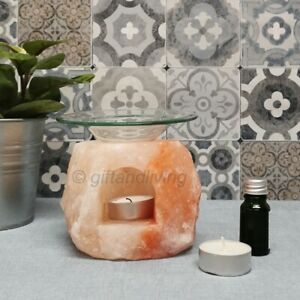 Himalayan Salt Oil Burner Diffuser Wax Melt Burner Yankee Candle Tart Warmer WW