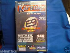 Chartbuster  Karaoke Essential 450 - E9 CD+G 30 DISC 450 SONGS SET / $89 SALE