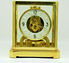 FULLY SERVICED 1970s JAEGER LECOULTRE 528 ATMOS CLOCK #310000 SWISS WORKING
