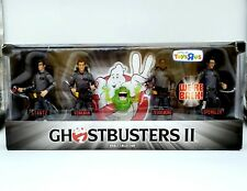Ghostbusters II Adult Collector Toys R Us Exclusive 5 Pack w Santa Hats Included