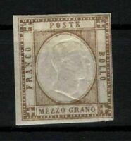 P03/NEAPOLITAN PROVINCES/ITALY/1861, MH, SASSONE #18, 350€