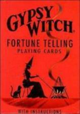 Gypsy Witch Fortune-Telling Cards (Trade Cloth)