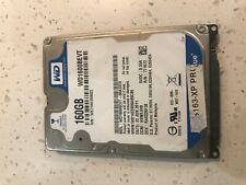 "Western Digital | WD Scorpio Blue | WD1600BEVT | Hard Disk Drive | 2.5"" | 160GB"