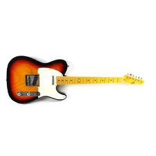 LsL T-Bone 3-Tone Sunburst Maple Neck Ash Body NEW T Electric Guitar with Case