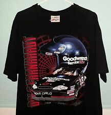 Vintage 2000 Dale Earnhardt #3 Nascar Double-Sided Racing T-Shirt - Size Xl