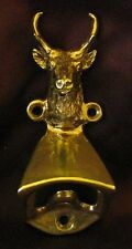 PRONGHORN ANTELOPE Wall Mounted Bottle Opener in Bronze