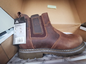 New Real Leather Amblers Abingdon Dealer Mens Boots Brown - UK Size 7 -