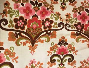 Original aus den 70er Jahren, UKADAN, Vorhang- und Möbelbezugszugsstoff