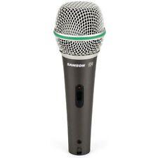 SAMSON Q4 microfono dinamico gelato switch on/off x canto voce studio +clip +bag
