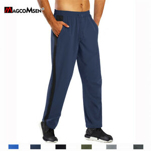 Mens Joggers Sweatpants Jogging Running Gym Quick Dry Sport Trousers Track Pants