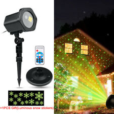 Outdoor Moving Laser Projector LED Light Landscape Garden Christmas Party Lamp
