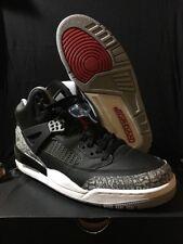 Air Jordan Spizike Black Cement Men's SZ 9 12 BLCK/VRSTY RD-CEMNT 315371 034