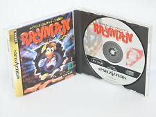 RAYMAN Ray Man Ref/1010 Sega Saturn Japan ss