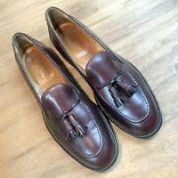 Alden for Brooks Brothers Tassel Loafers 10D Color 8 Burgundy Cordovan 5109