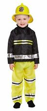 FIREMAN TODDLER KIDS BOYS EMERGENCY SERVICES FIRE MARSHALL FANCY DRESS 2-4