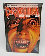Halls of Horror Dracula Comics Special 1984 [3.5 VG-] Horror Magazine Vintage